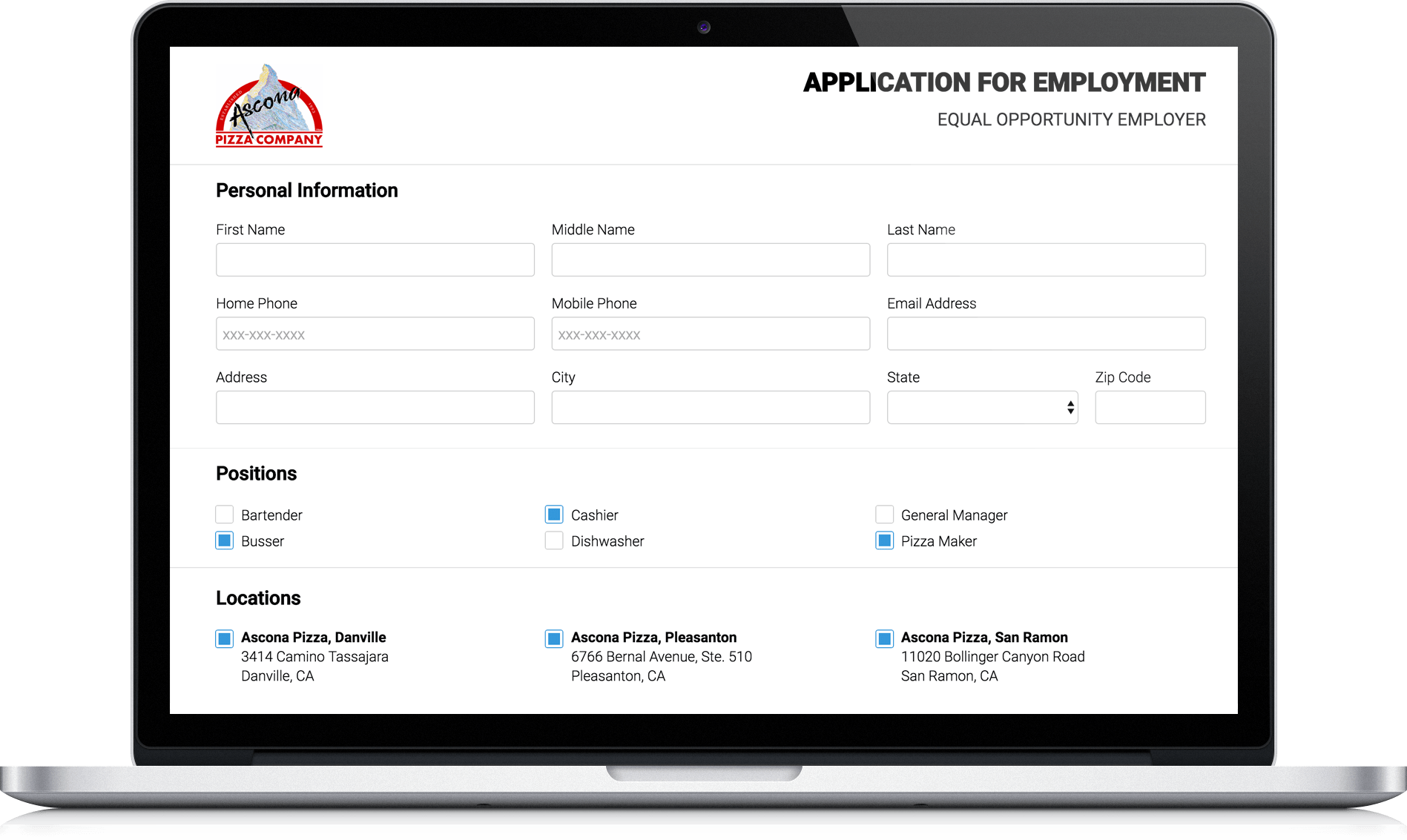 Cloud-Based Job Applications and Management | WebCorp